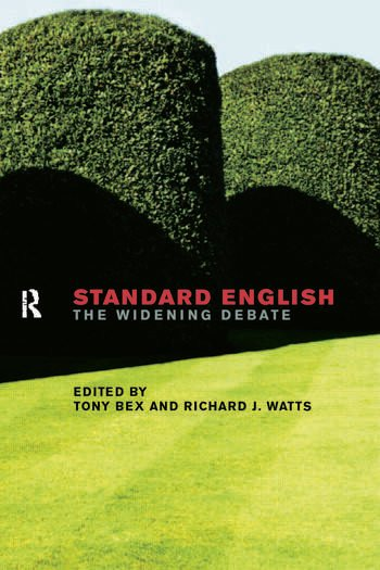 Standard English The Widening Debate book cover