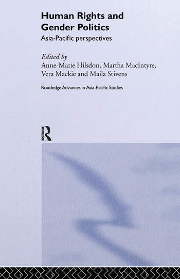Human Rights and Gender Politics Asia-Pacific Perspectives book cover
