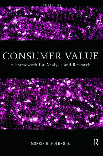 Consumer Value A Framework for Analysis and Research book cover
