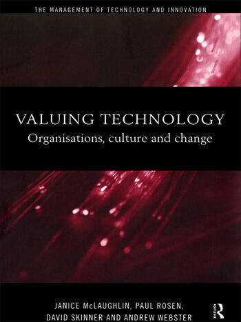 Valuing Technology Organisations, Culture and Change book cover