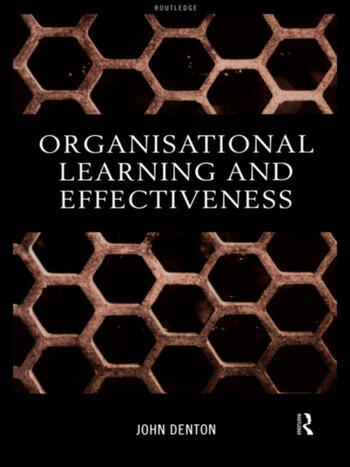 Organisational Learning and Effectiveness book cover