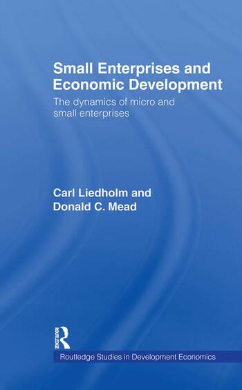 Small Enterprises and Economic Development The Dynamics of Micro and Small Enterprises book cover