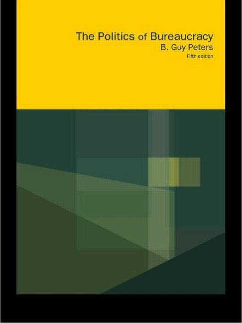 Politics of Bureaucracy book cover
