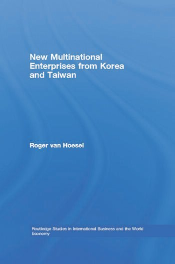 New Multinational Enterprises from Korea and Taiwan book cover