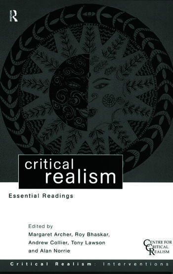 Critical Realism Essential Readings book cover