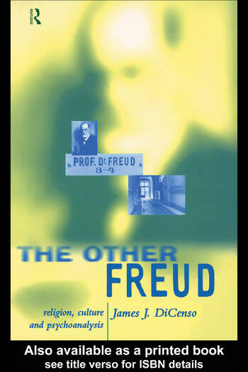 The Other Freud Religion, Culture and Psychoanalysis book cover