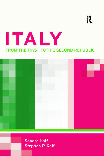 Italy From the 1st to the 2nd Republic book cover
