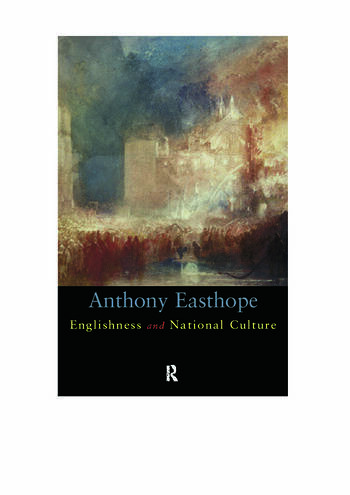 Englishness and National Culture book cover