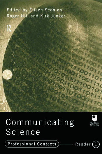 Communicating Science Professional Contexts (OU Reader) book cover