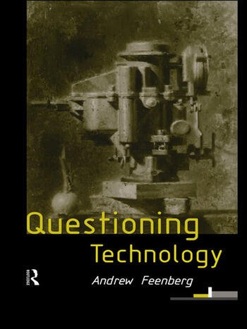Questioning Technology book cover