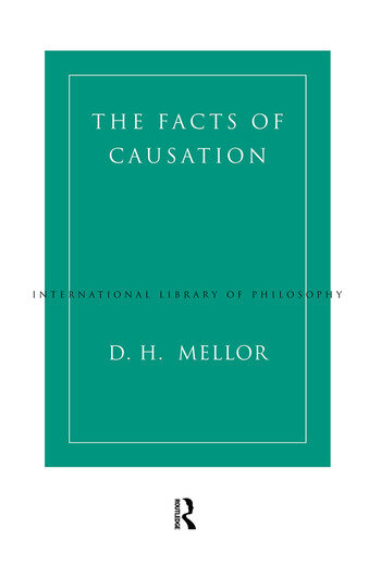 The Facts of Causation book cover