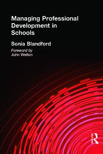 Managing Professional Development in Schools book cover