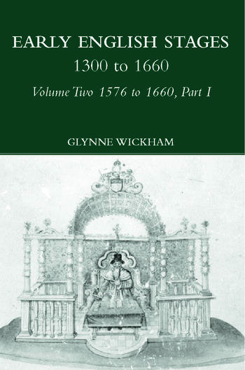 Part I - Early English Stages 1576-1600 book cover