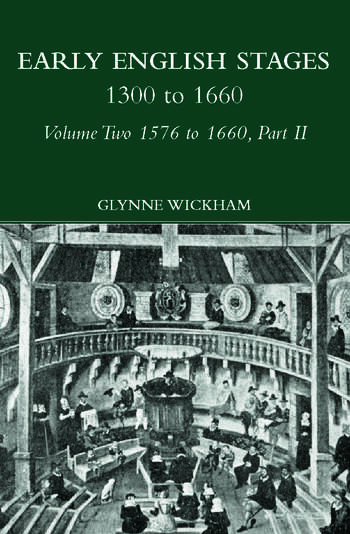 Part II - Early English Stages 1576-1600 book cover