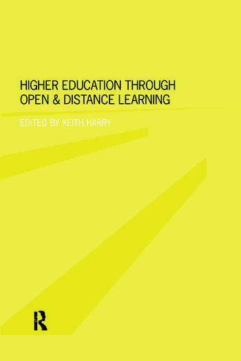 Higher Education Through Open and Distance Learning book cover