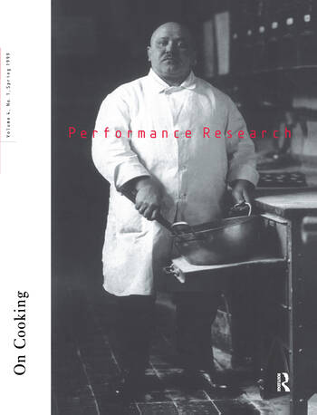 Performance Research On Cooking book cover
