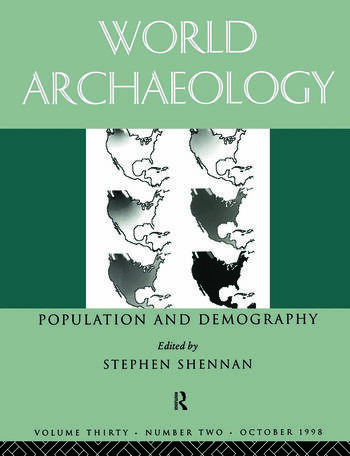 Population and Demography World archaeology 30:2 book cover
