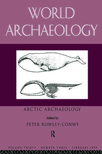 Arctic Archaeology book cover