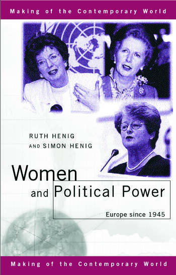 Women and Political Power Europe since 1945 book cover