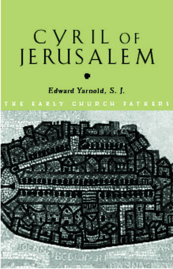 Cyril of Jerusalem book cover