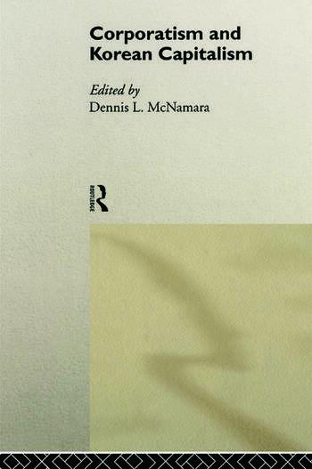 Corporatism and Korean Capitalism book cover
