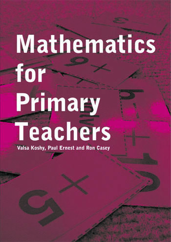 Mathematics For Primary Teachers book cover