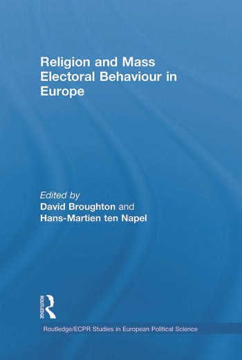 Religion and Mass Electoral Behaviour in Europe book cover