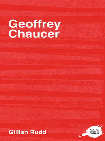 Geoffrey Chaucer book cover
