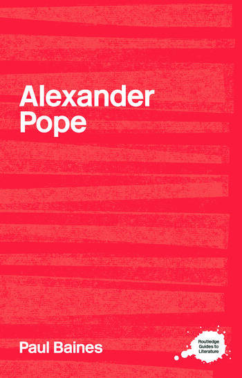Alexander Pope book cover