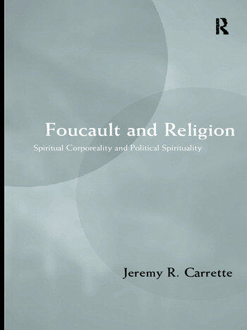 Foucault and Religion book cover