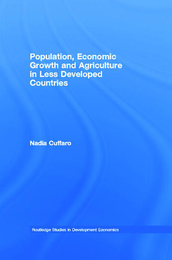 Population, Economic Growth and Agriculture in Less Developed Countries book cover