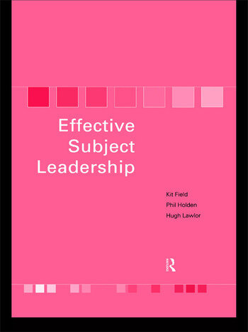 Effective Subject Leadership book cover