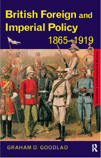 British Foreign and Imperial Policy 1865-1919 book cover
