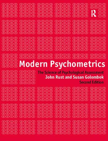 Modern Psychometrics book cover