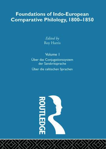 Uber Das Conjugatn Sanskrit V1 book cover