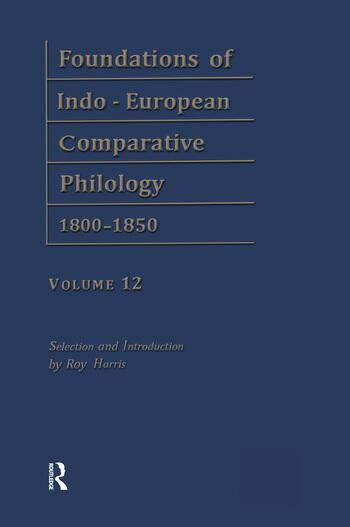 Etymol Forschungen V1 V12 book cover