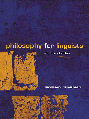 Philosophy for Linguists An Introduction book cover