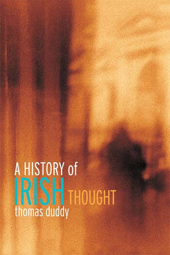 A History of Irish Thought book cover