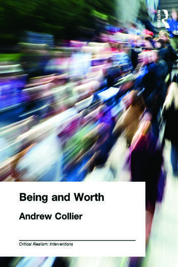 Being and Worth book cover