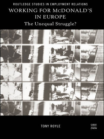 Working for McDonald's in Europe The Unequal Struggle book cover