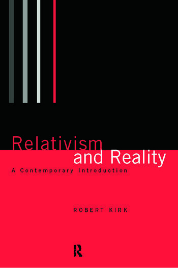 Relativism and Reality A Contemporary Introduction book cover