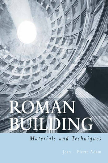 Roman Building Materials and Techniques book cover