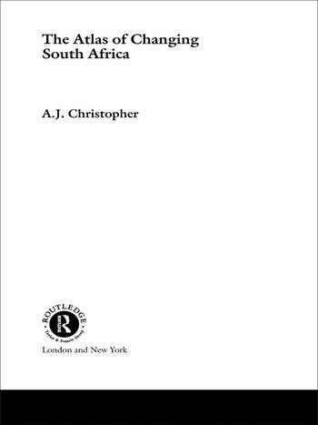 Atlas of Changing South Africa book cover