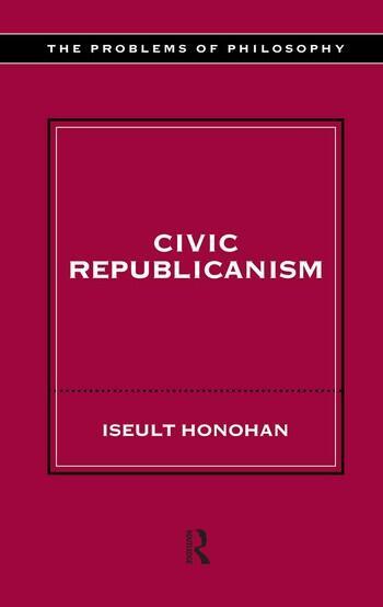 Civic Republicanism book cover