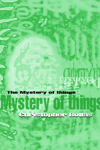The Mystery of Things book cover