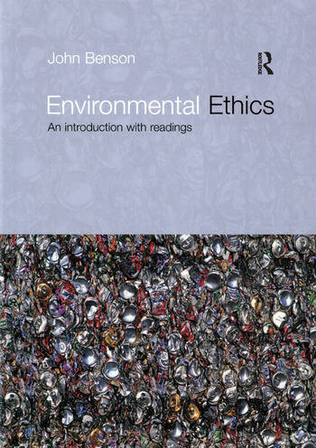 Environmental Ethics An Introduction with Readings book cover