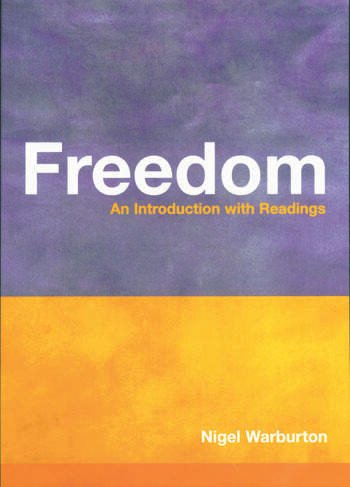 Freedom An Introduction with Readings book cover