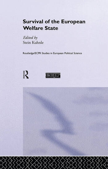 The Survival of the European Welfare State book cover
