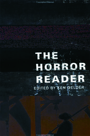 The Horror Reader book cover