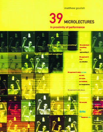 39 Microlectures In Proximity of Performance book cover